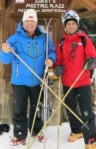 Heli-Ski Vintage Bamboo Ski Pole