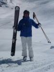 bamboo ski poles